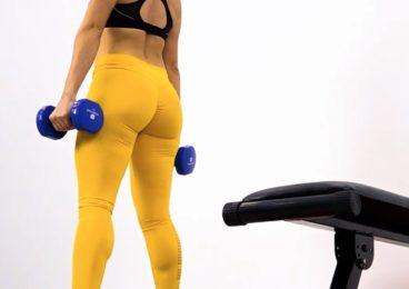 entrenamiento ganar musculo gluteos