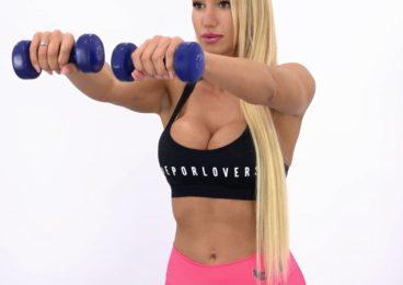 rutina de tren superior brazos triceps biceps abdomen