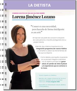 Dietista Lorena Jiménez