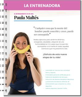 Entrenadora Paula Maltés