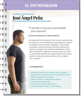 Entrenador Jose Ángel Peña
