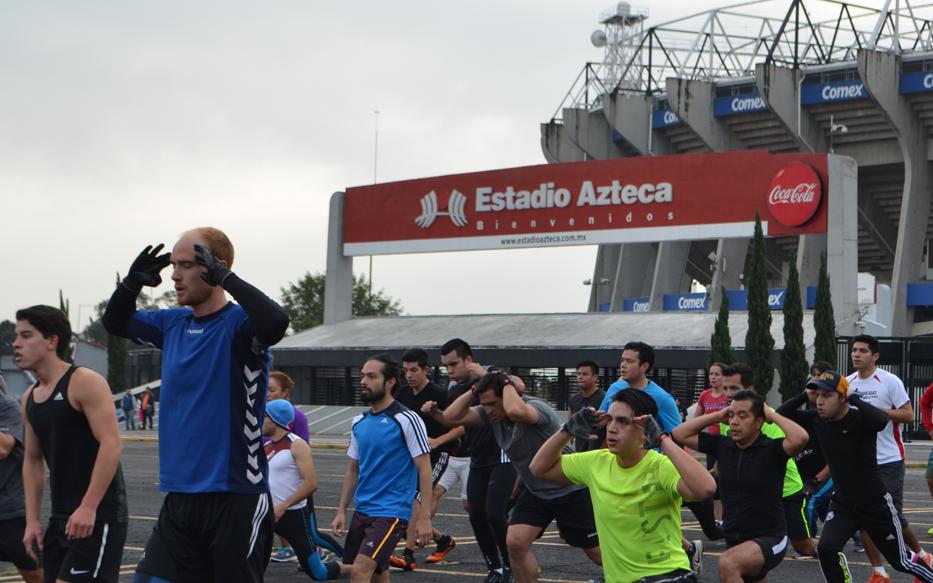 Spartan race sprint 2015 estadio df m xico 19 y 20 for Puerta 20 estadio racing
