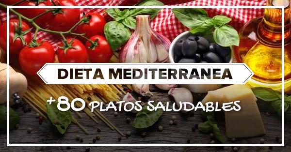 Modelo menu dieta mediterranea