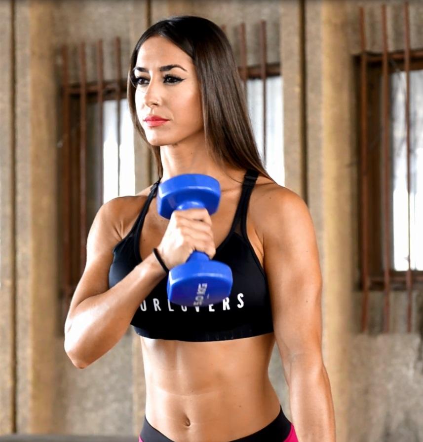 ejercicios para adelgazar los brazos y hombros