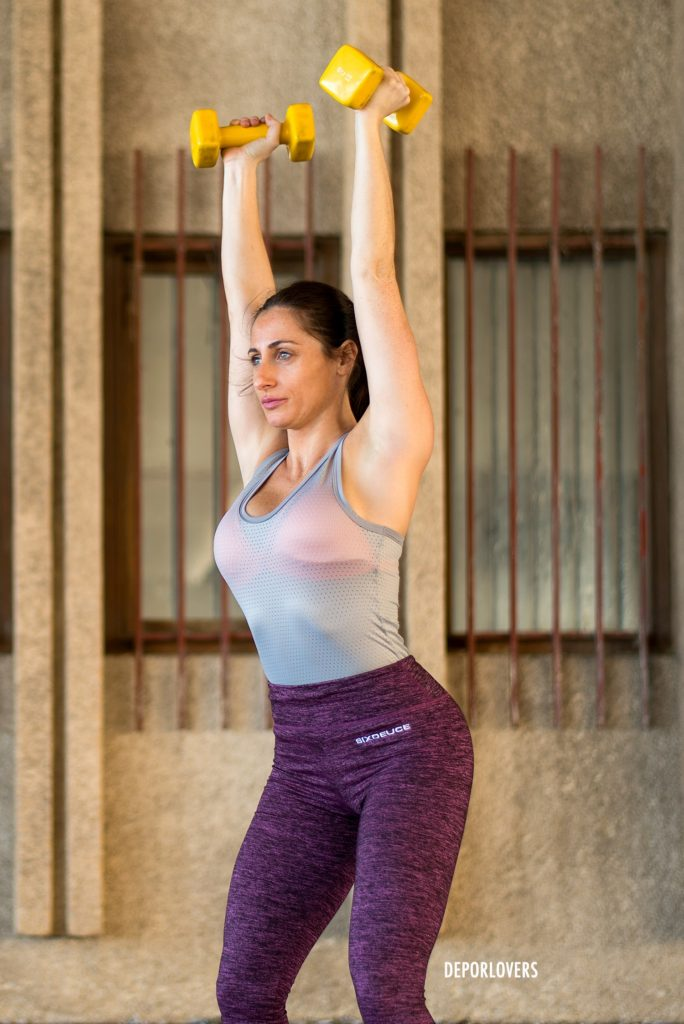 ejercicios para bajar de peso en brazos y espalda