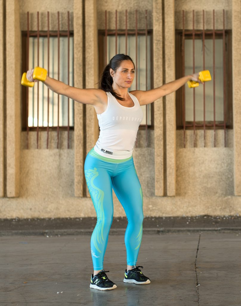 Adelgazar brazos en 8 minutos de ejercicios